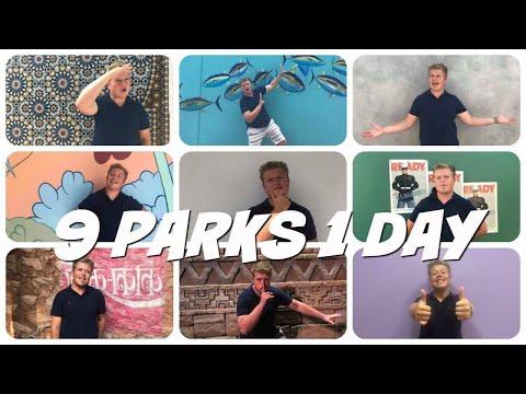 9 THEME PARKS IN 1 DAY CHALLENGE | Disney World CRP Vlog 2017-18