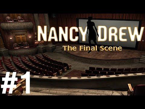 Nancy Drew: The Final Scene Walkthrough part 1