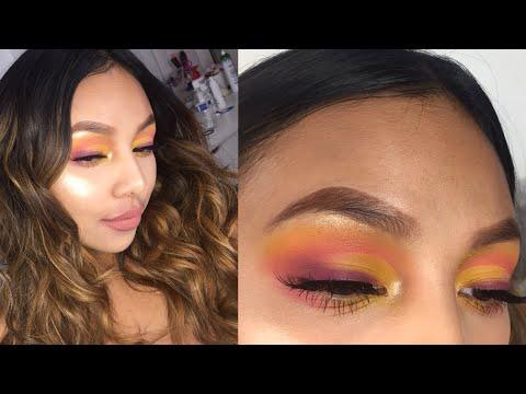 A SUN X HORIZON  Inspired Makeup Look | Jenn Isabel