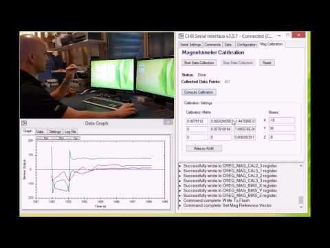 Calibrating the Magnetometer on the UM7 Orientation Sensor