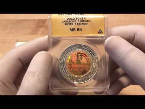 10BTC & 1BTC Casascius Coins - Physical Bitcoins
