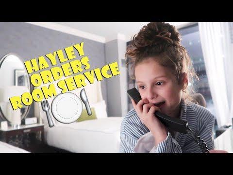 Hayley Orders Room Service 🍽 (WK 367.2) | Bratayley