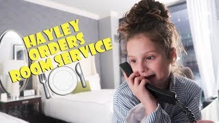 Hayley Orders Room Service 🍽 (WK 367.2) | Bratayley