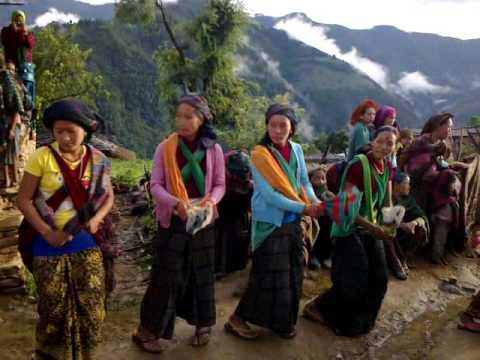 Bhume naach(mahat rukum) magar festival