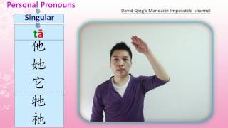 Learn Basic Mandarin Chinese : Personal Pronouns