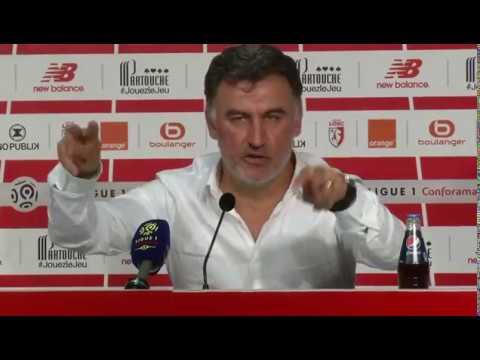 LOSC - Galtier réagit après la victoire 2-1 face à Dijon «C'est un miracle»