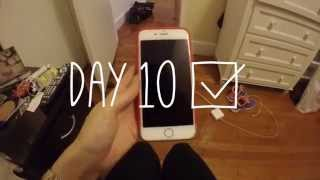 A day without my phone - Day 10
