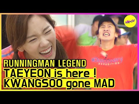 [RUNNINGMAN THE LEGEND] [EP 112]   TAEYEON's up! KWANGSOO gone MAD!! (Eng Sub)