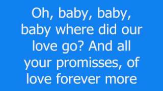 Declan Galbraith - Where did our love go - Lyrics