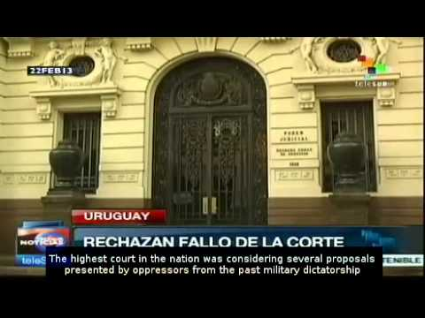 Uruguay: new law lets members of dictatorship off