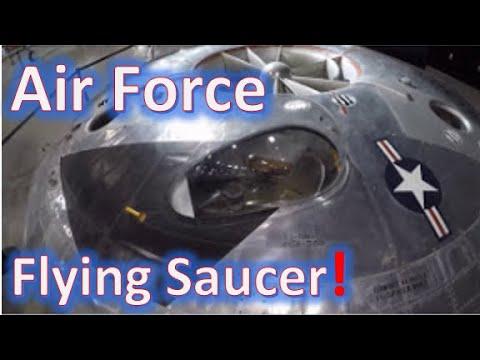 Air Force UFO -  the Avrocar