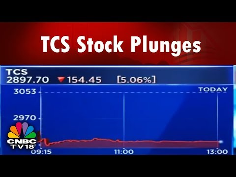 TCS Stock Plunges after Tata Sons Sells Shares of TCS | Business Lunch | CNBC TV18