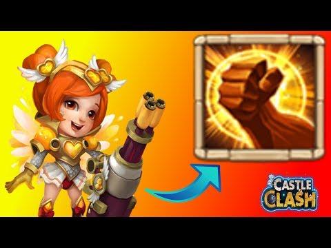 Castle Clash | Lady Boom Mit Einem 8/8 Rohe Gewalt TESTEN! | Schloss Konflikt