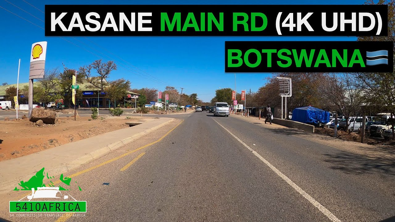Download Kasane Main Rd (4K UHD) | Botswana | Bonnet cam