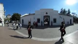 Cambio de guardia en la Casa Histórica de Tucumán en 360°