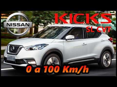 0 a 100 km/h no Nissan Kicks SL 1.6 CVT 2018 na gasolina