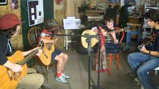 blues para los niños, acustico