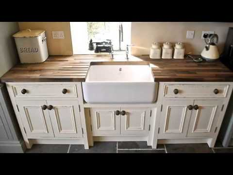 Wooden Free Standing Kitchen Sink Youtube