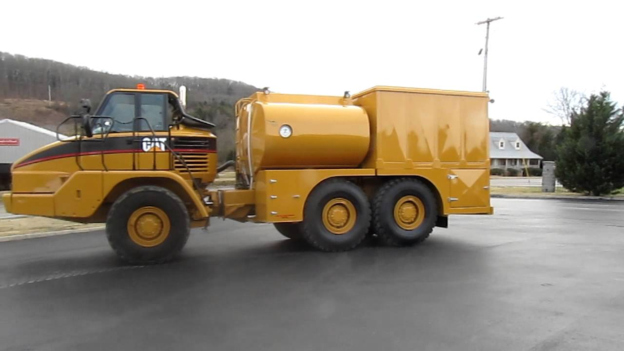 Cat Articulated Water Truck For Sale