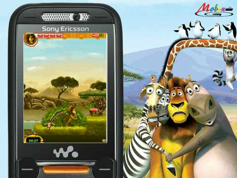Madagascar 2 Java Game [watch in HD]