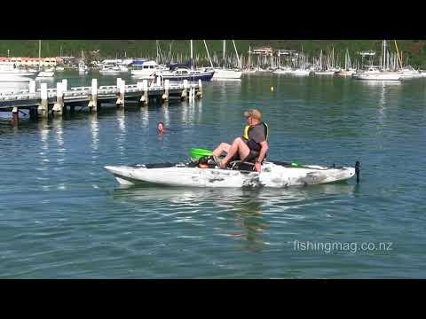 Predator PDL Old Town Kayaks, Waikawa Bay, Marlborough Sounds