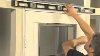 Eze Breeze Retail Store Cabana Door Installation