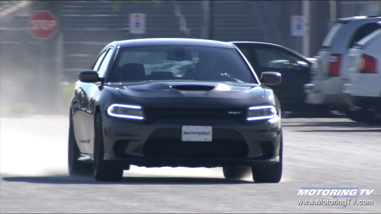 review 2016 dodge charger srt hellcat youtube - 2016 Dodge Charger Hellcat Blue