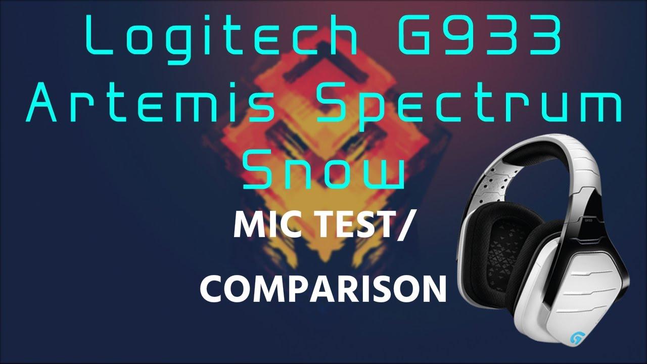 Logitech G933 Artemis Spectrum│MIC TEST+ Blue Snowball Comparison