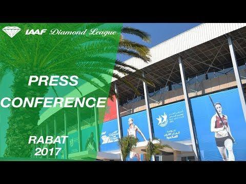 Rabat 2017 Press Conference - IAAF Diamond League