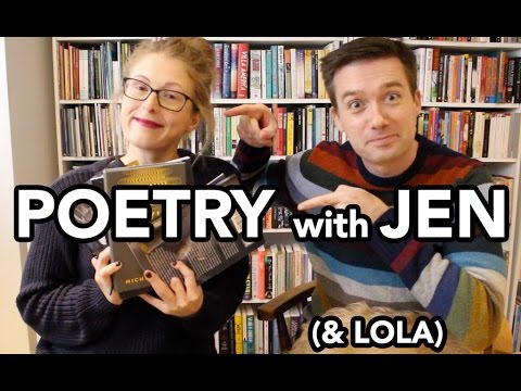 Vintage Vlog: Poetry with Jen (& Lola)