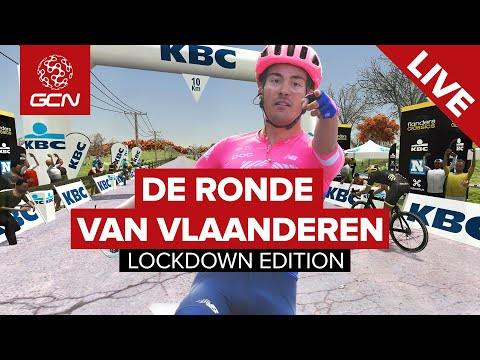 De Ronde Lockdown Edition: Tour Of Flanders Virtual Race LIVE On GCN Racing