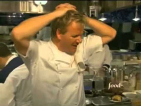 The single greatest line from Hell's Kitchen...evar. - YouTube  The single grea...