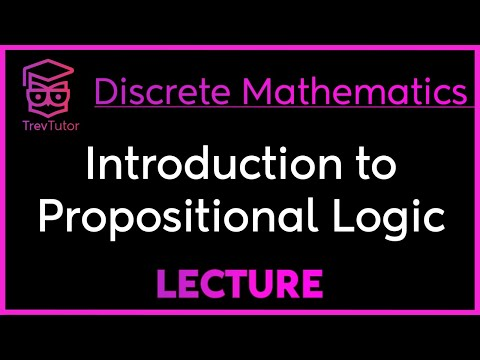 [Discrete Math 1] Introduction to Propositional Logic