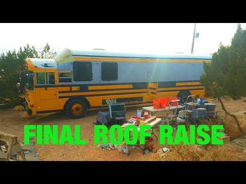 School Bus conversion to tiny home, motor coach #78 last day Chris  & G bus
