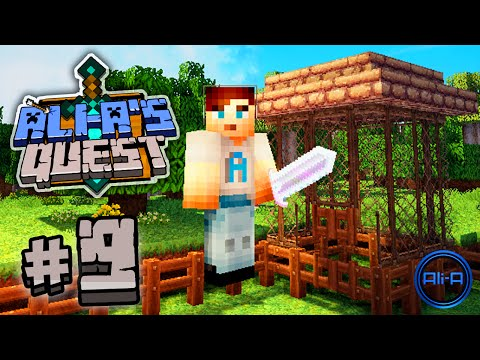 "Minecraft - Ali-A's Quest #9 - ""THE BIRD CAGE!"""