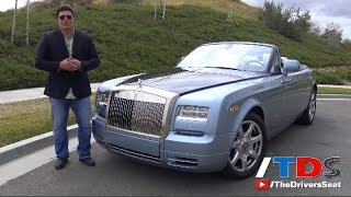 2015 Rolls-Royce Phantom Drophead Coupe Review - half a million dollar convertible dream
