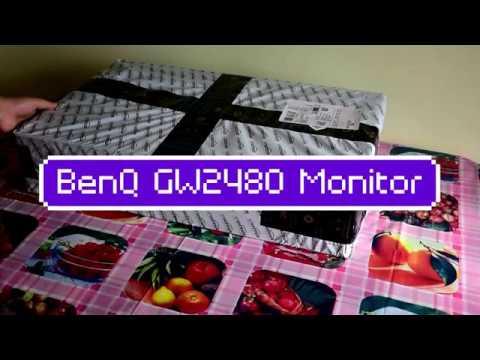 BENQ GW2480| best budget 24 inch monitor| - YouTube