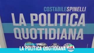 APERTURA DEL COMITATO ELETTORALE DI COSTABILE SPINELLI A BATTIPAGLIA