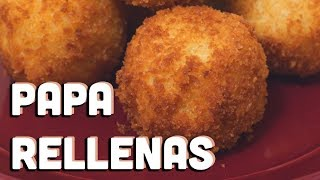How To Make Cuban Papas Rellenas | mitú