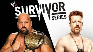 WWE Survivor Series 2012 ► Sheamus vs Big Show [OFFICIAL PROMO HD]