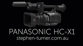 PANASONIC HC X1