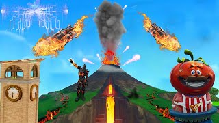SO It Will PASS 😱 Loot Lake LIVE EVENT & Volcano Eruption | Fortnite German