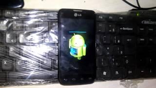 LG L5 II DUAL CHIP E455 -  SECURITY ERROR