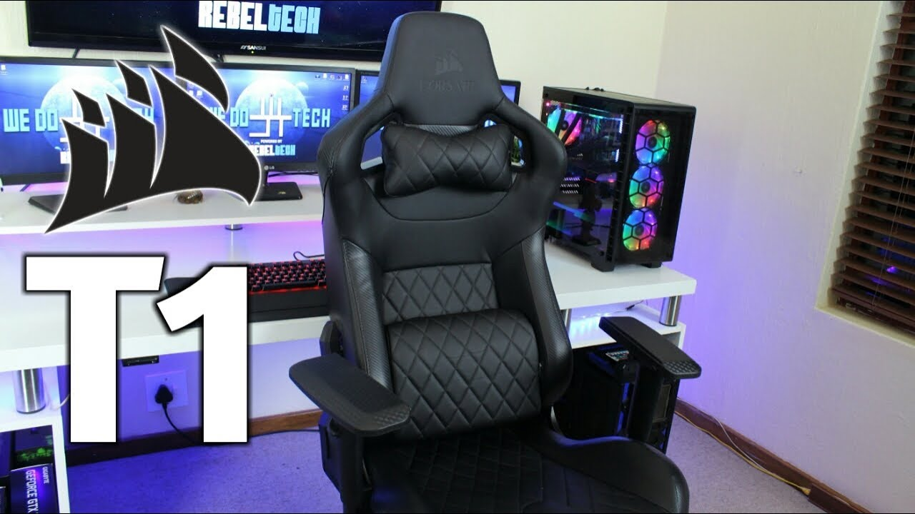 Rise Above The Rest With The Corsair T1 Race Gaming Chair