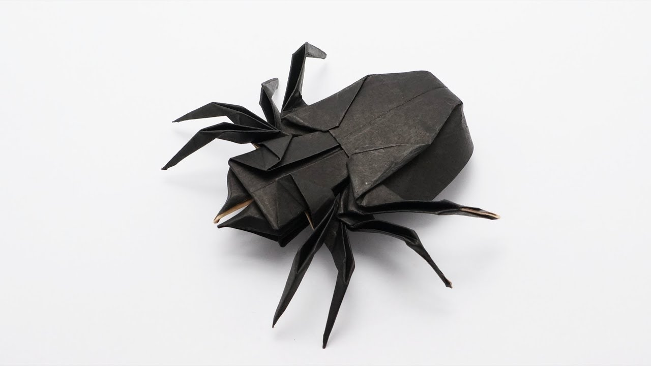 origami spider ������ traditional jo nakashima halloween