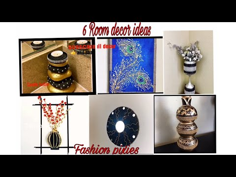 6 DIY room decor/home decorating ideas Handmade/Fashion pixies/Home decor diy/art and craft/crafts