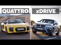 The Differences Between Audi Quattro and BMW xDrive