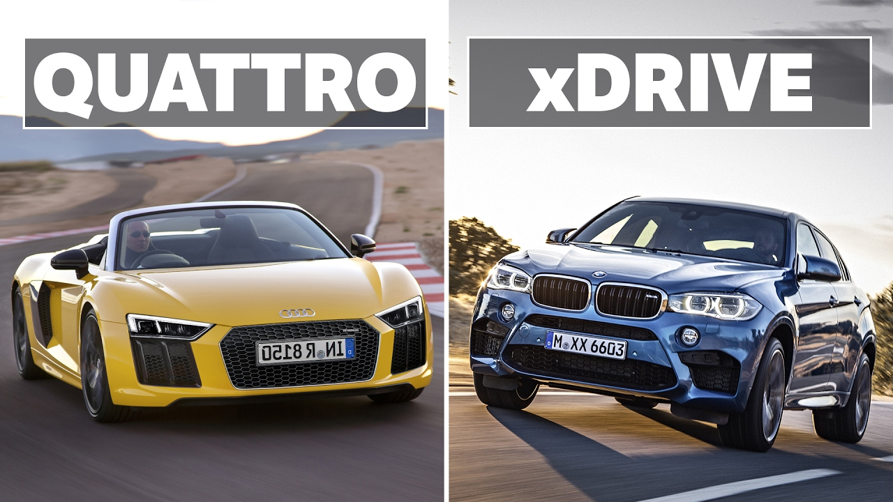 The Differences Between Audi Quattro And Bmw Xdrive Youtube