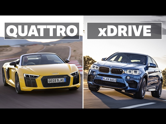 BMW xDrive VS. Audi Quattro: Which AWD System Is The Best?