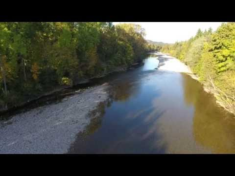 My Phantom 4 Swiss River
